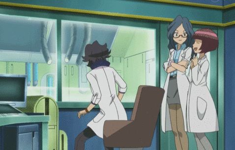 This is when Serena won the first round of the showcase in episode 79. I was laughing so hard at Sycamore's reaction.