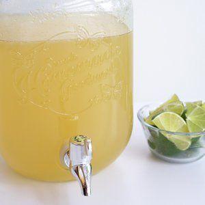 Big Batch Margarita Recipe - quadruple for 2 gallon dispenser