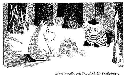 Mumin - http://thelifeofannie.blogg.se/2011/february/the-big-book-about-mumin.html