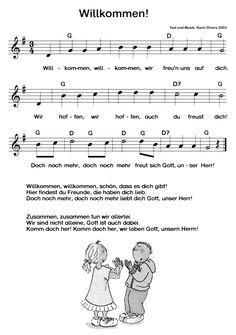Lieder von Gott und Kind