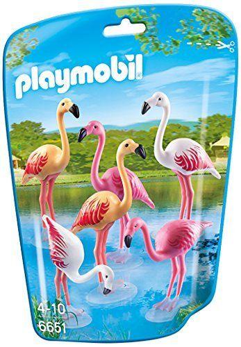 Playmobil - 310530 - Le Zoo - 6651-Groupe De Flamants Roses Playmobil http://www.amazon.fr/dp/B00O4E2K0Q/ref=cm_sw_r_pi_dp_7hvTvb18QHC0M