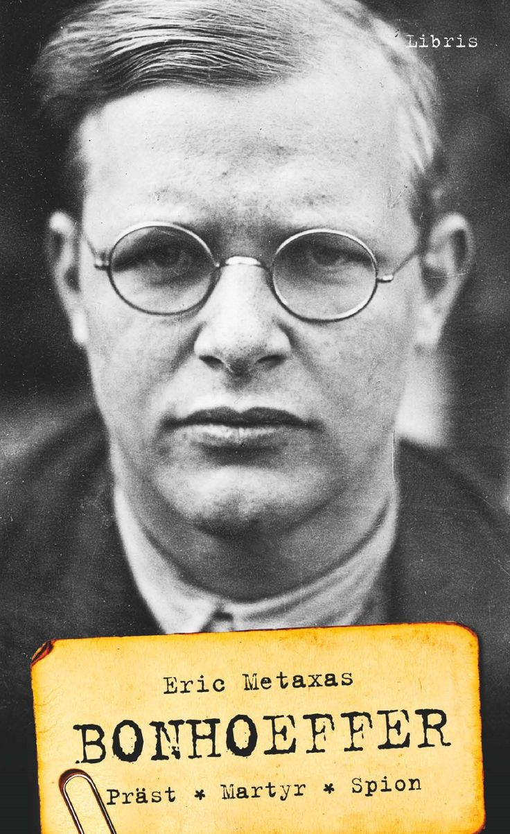 Omslagsbild, Bonhoeffer (pocket), Eric Metaxas