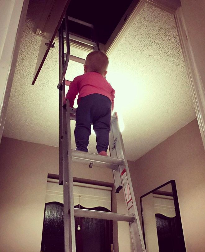 Dad photoshops daughter in dangerous situations – 7 Pics