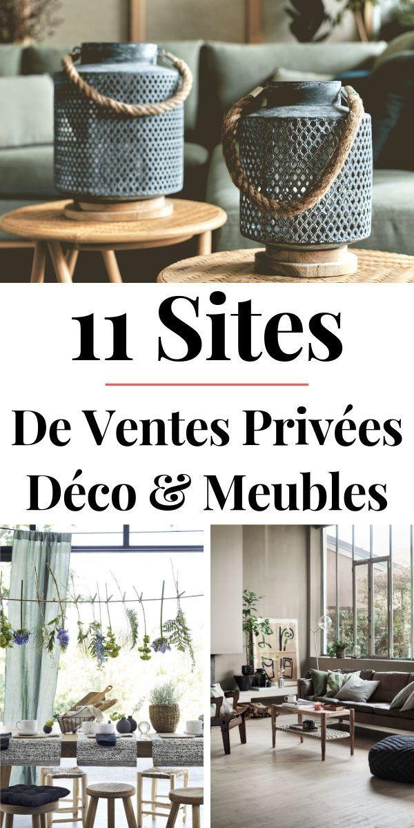 Ventes Privees Meubles Deco 10 Sites A Connaitre En 2020 Meuble Deco Mobilier De Salon Et Site Deco Maison