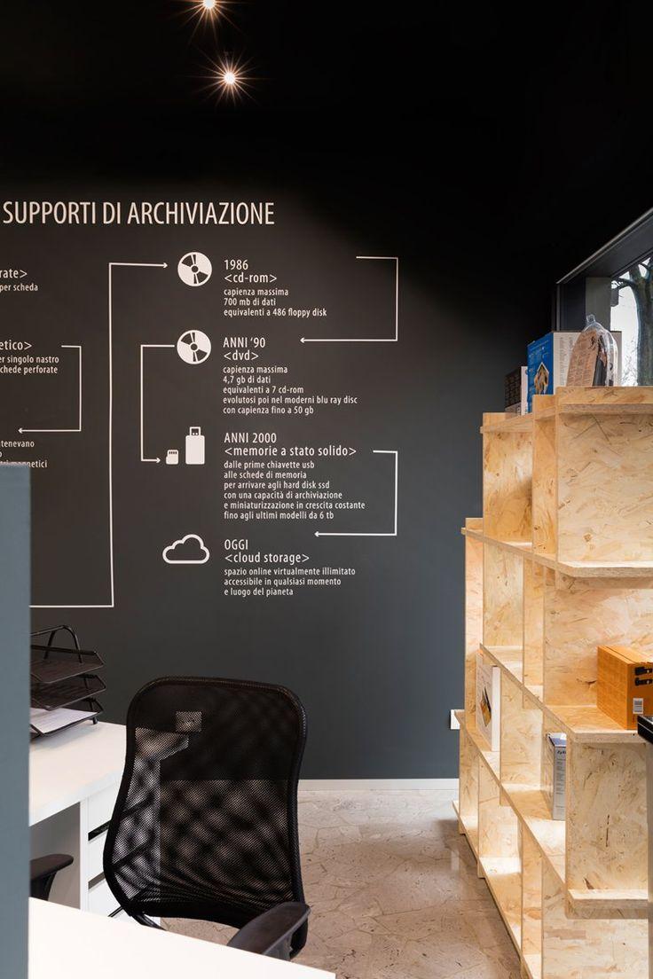 AB Computer, Treviglio, 2015 - Margstudio - infographics for computer shop restyle
