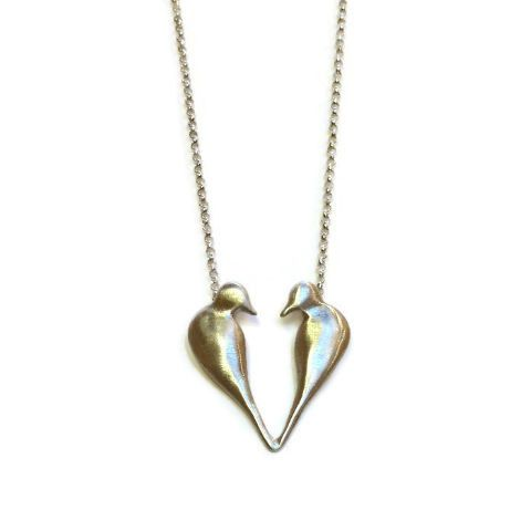 Chee-Me-No Jewelry - Love Birds Necklace