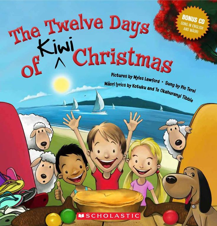 12 Days of Kiwi Christmas  scholastic