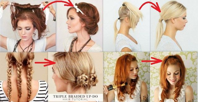 15 Lazy Girl Hairstyle Tips and tricks that can be done in minutes