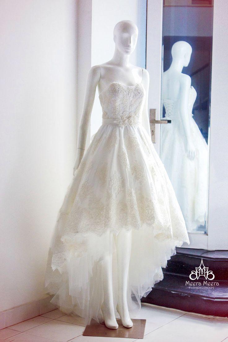 Mullet Wedding Dress KH1333 by MeeraMeeraDresses on Etsy https://www.etsy.com/listing/236206714/mullet-wedding-dress-kh1333