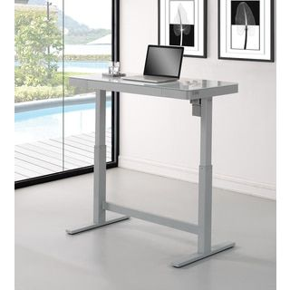 Shop for Adjustable Height Desk, White. Get free shipping at Overstock.com - Your Online Furniture Outlet Store! Get 5% in rewards with Club O!