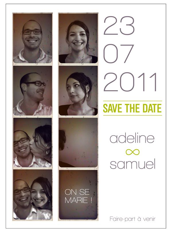 Save The Date : une communication originale