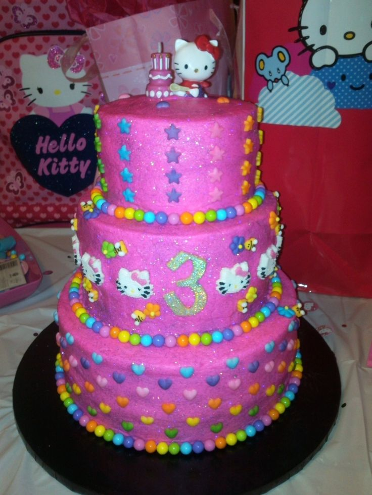 9 best Hello Kitty images on Pinterest Hello kitty cake design