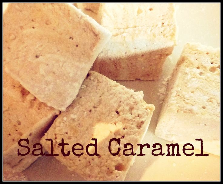 delicious salted caramel marshmallows, handmade in ireland by mallow mia