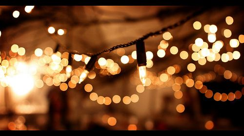 garden party string lights- fivebirdsinarow
