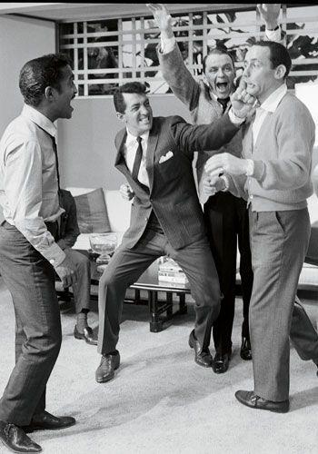 The Rat Pack - Sammy Davis, Jr., Dean Martin, Frank Sinatra...