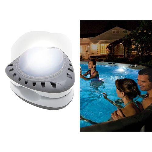 Intex - Lampe blanche magnétique de piscine - 28688 - pas cher Achat/Vente Accessoires piscines hors sol - RueDuCommerce
