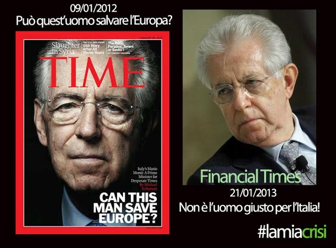 Monti giudicato da Financial Times