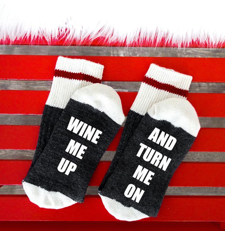 03 - Wine/Beer Socks, Bring me Wine Socks, Funny Socks womens, If you can read this socks, Custom Socks, Mens Socks, Wine Socks, Womens Sock by SOCKDirtyToMe on Etsy https://www.etsy.com/ca/listing/475964683/03-winebeer-socks-bring-me-wine-socks