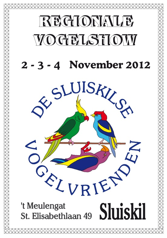 Brochure Regionale Vogelshow Sluiskil