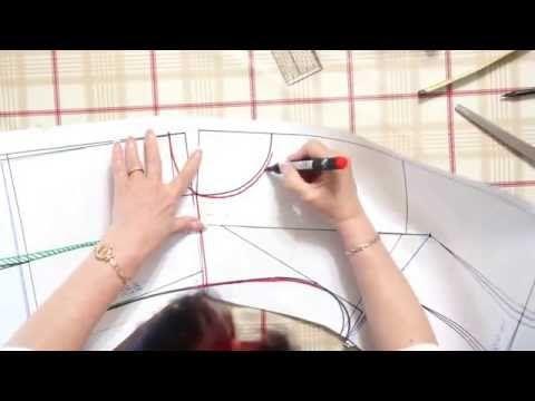 Мерка для определения бокового шва - Светлана Пояркова - YouTube