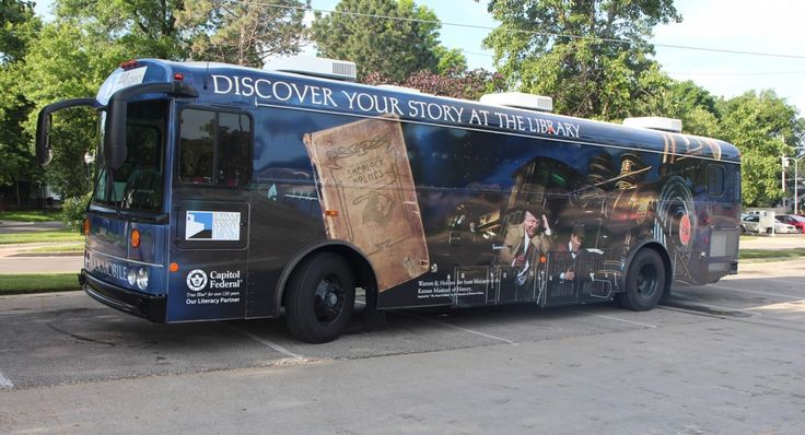 New Topeka and Shawnee County (Kans.) Public Library bookmobile, July 2014