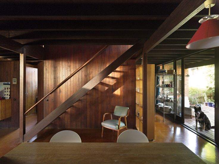 Photo by Christopher Frederick Jones // Railton House and Office: Discover Queensland architect John Railton's delightful 1963 family home and studio in the Brisbane inner-city suburb of Spring Hill #boh2014 #unlockbrisbane #brisbane #discoverbrisbane