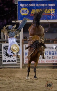 this is what it looks like when i get bucked off.... but i manage to land on my feet... #lucky
