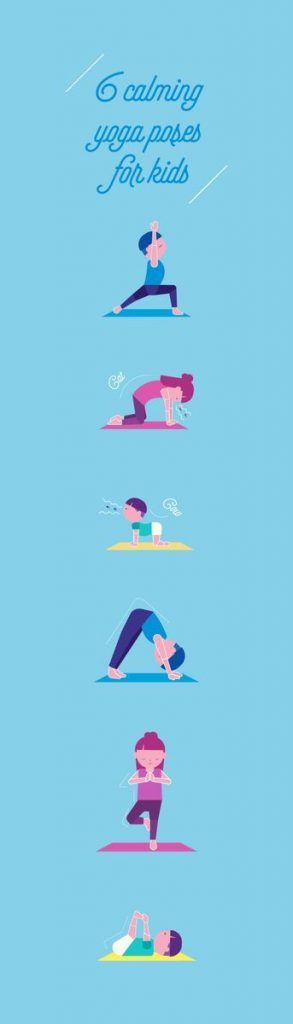 6 Calming Yoga Poses for Kids Who Need a Chill Pill