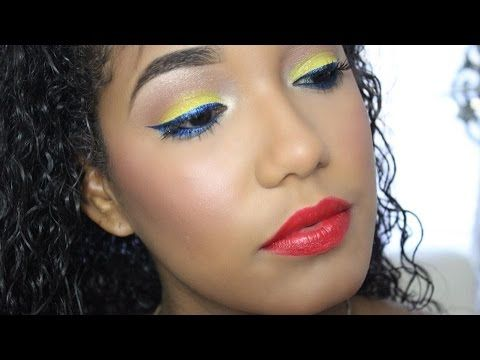 Maquillaje Para La Independencia de Colombia ❤️
