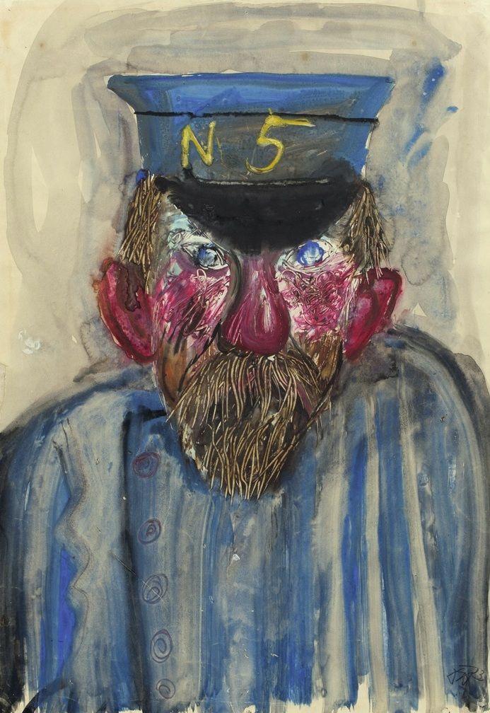amare-habeo: Otto Dix (1891 – 1969) - A vassal (Dienstmann N5) , 1923.