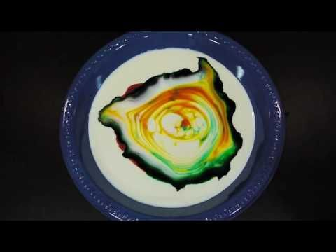 This tyedye milk trick is so, kids especially love it