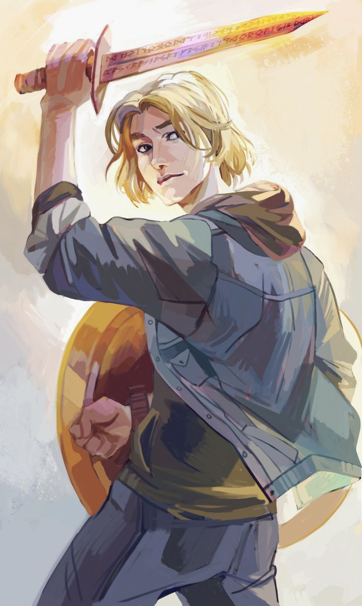 viria: Finally can post these babies on here! I'm getting attached, so I really tried to do them justice for Rick Riordan's website.   PS: I've got so many questions asking why Alex Fierro wasn't drawn yet, but I still have a few chapters from the first book to finish, so! Just haven't met this character yet ;)