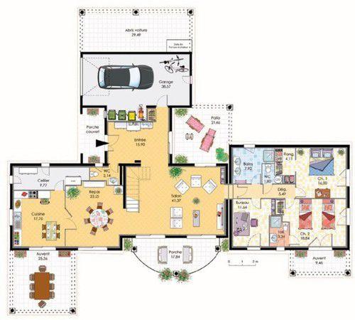 Les 885 meilleures images propos de plans de maisons sur for Construire une maison les sims 3