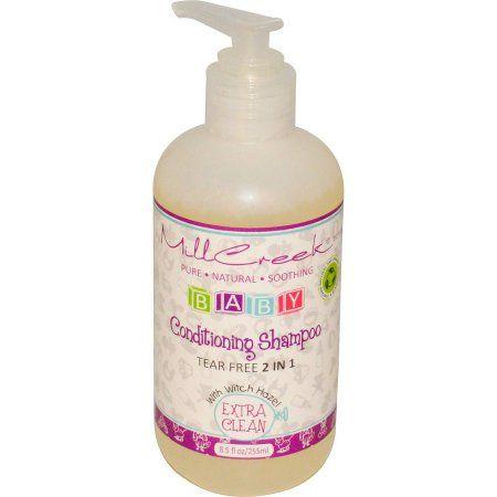 Mill Creek Baby Conditioning Shampoo with Witch Hazel, 8.5 oz