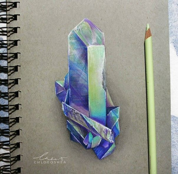 Colour Pencil Crystal