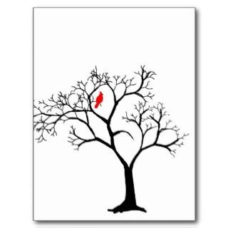 tree red bird tattoo - Google Search
