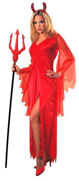 Pirunainen mekko standardikokoisena. Pirullisen seksikäs mekko mihin tahansa juhliin… #naamiaismaailma