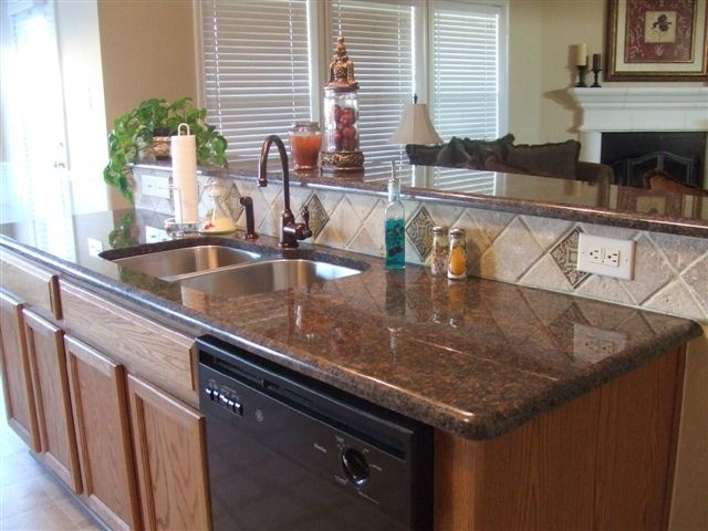 The 25 best tan brown granite ideas on pinterest for Cream and brown kitchen ideas