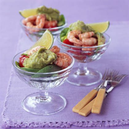 Try this twist on a classic prawn cocktail recipe and add for Classic starter recipes
