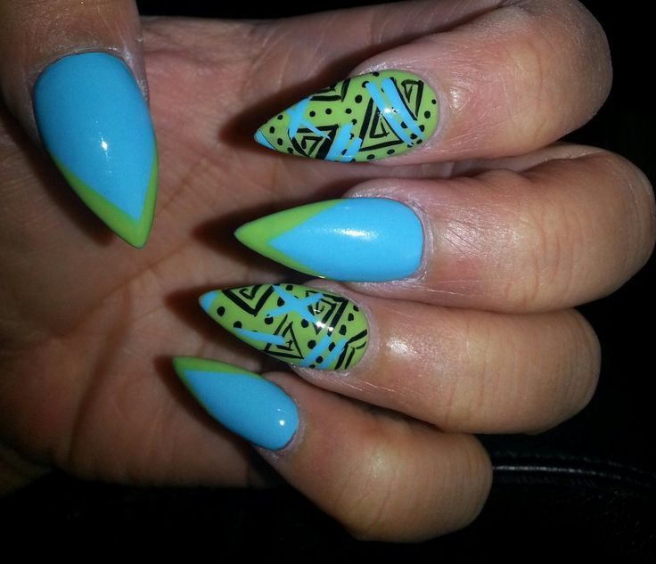 3D Nails - Upland, CA, United States. Awesome job done by Lena