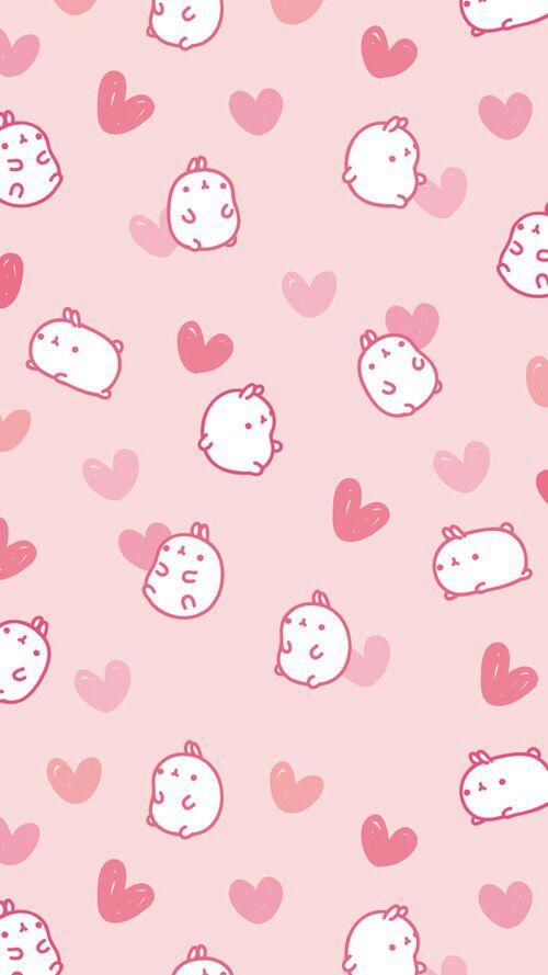 Cute Molang wallpaper ❤️