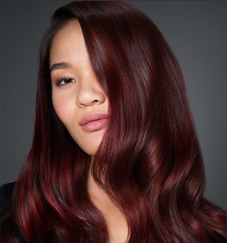 Wine hair, il nuovo rosso autunnale   Colore capelli pelle ...