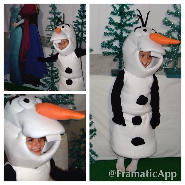 26 Best 2014 Halloween Olaf Costumes Images On Pinterest
