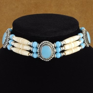 17 best images about native regalia bone chokers on for How to make american indian jewelry