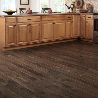 3 4 Hardwood Flooring click for fullscreen Mullican Flooring 3 14 Inch Whiskey Plank Oak Tobacco Smoke Wire Brushed 34 Inch Solid Hardwood Flooring 27 Sqftcase 18189 Home Depot