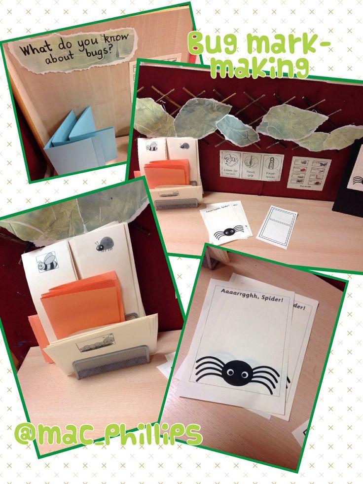 Classroom Layout Ideas Uk ~ Bug mark making center stuff pinterest mini