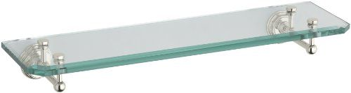 Special Offers – Kohler K-13147-SN Pinstripe Single Glass Shelf Vibrant Polished…   – Best Running Shoes Reviews