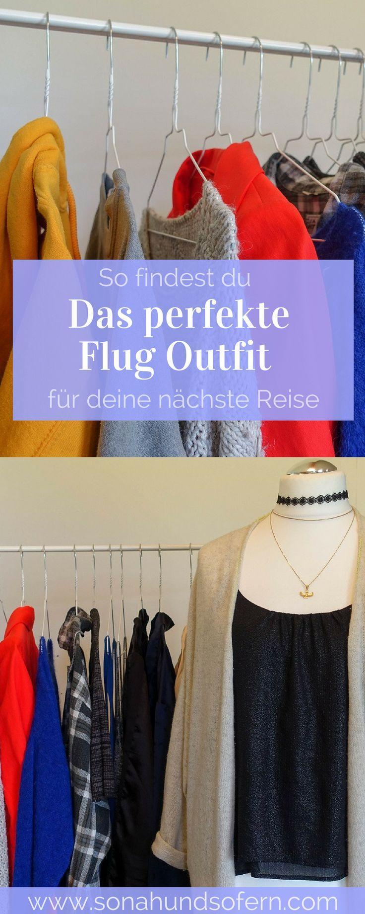 So findest du das perfekte Flug Outfit für deine nächste Reise. Die besten Tipps & Hacks für Kleidung auf den Weg in den Urlaub.