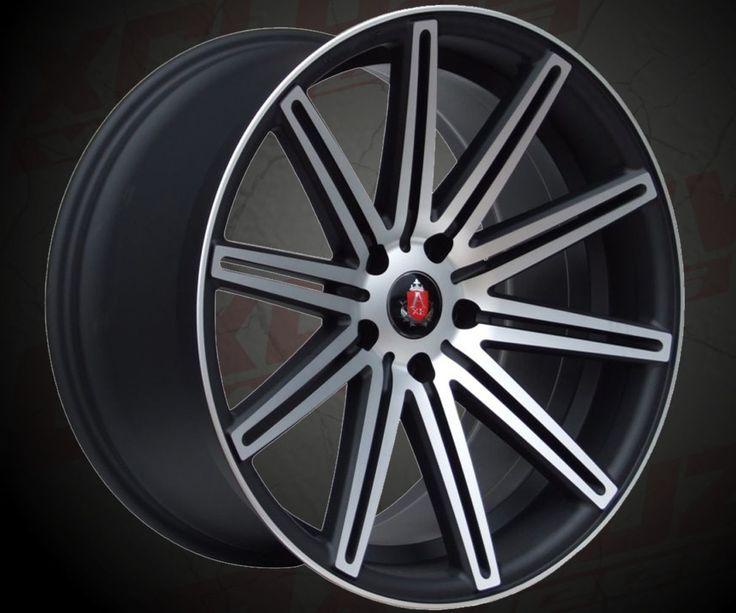 """Modèle : EX15 / Style Tuning / Tailles : 18x8.0"""", 18x9.0"""", 19x8.5"""", 19x9.5"""", 20x9.0"""", 20x10.5"""" / Entraxes : 5x112, 5x120 / Déport : 20, 25, 27, 30, 35, 40 ou 42 / Finition : Noir surfacé. / Compatible pour : Audi, VW, BMW, Mercedes..."""