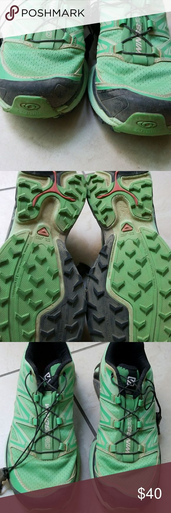 Salomon Wings Pro Mountain Trail Running Shoes Top Rated trail Running Shoes used 3 times total. Salomon Shoes Athletic Shoes